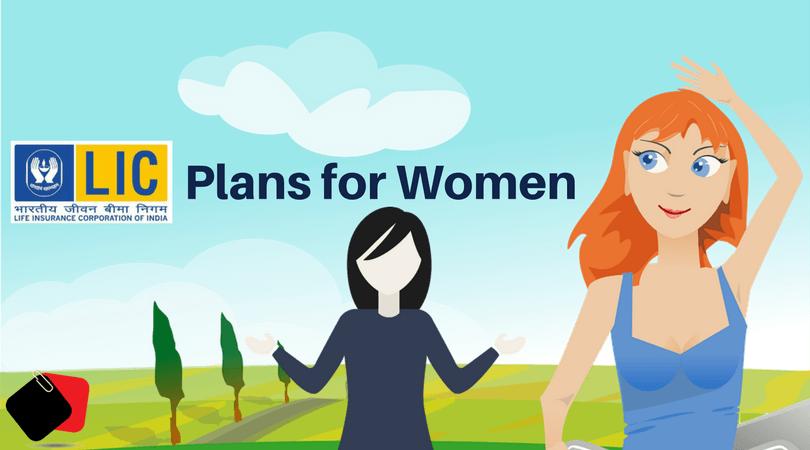lic women plan