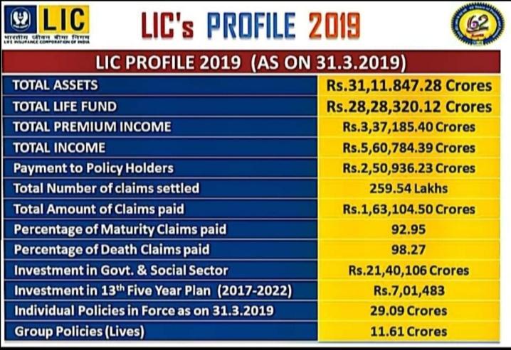 LIC Profile 2019