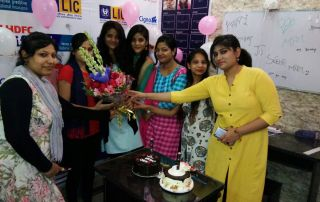 LIC Telecalling team birthday celebration